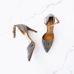 Lucky Brand Tukko Leopard Print Heel